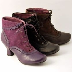 Hush Puppies shoes, Victorian style boots :
