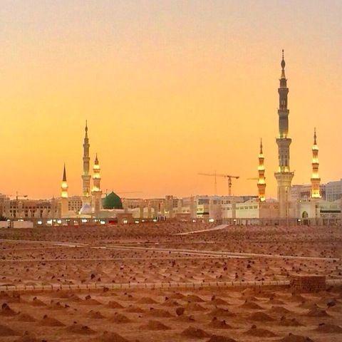 Madinah - may we be buried here ameen