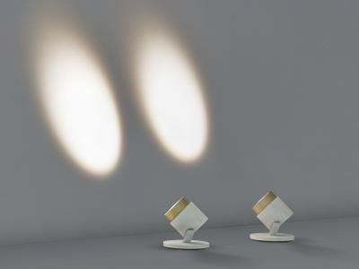 Great Lui by Occhio very innovative zoom function for a light beam between and