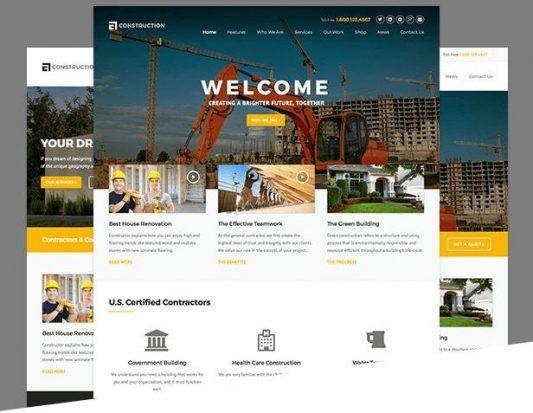 Home Remodeling Website Template Wordpress Keren Best Home Model - Home remodeling website templates
