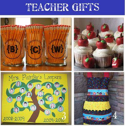 Teacher gifts (teacher appreciation)