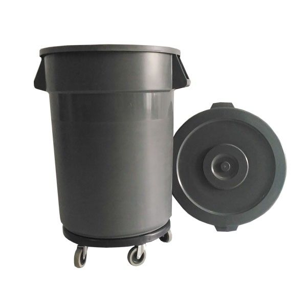 Round Dust Bin 100 L  http://alatcleaning123.com/tempat-sampah/1883-sanitary-bin-21-l.html  #dustbin #wastebin #tempatsampah