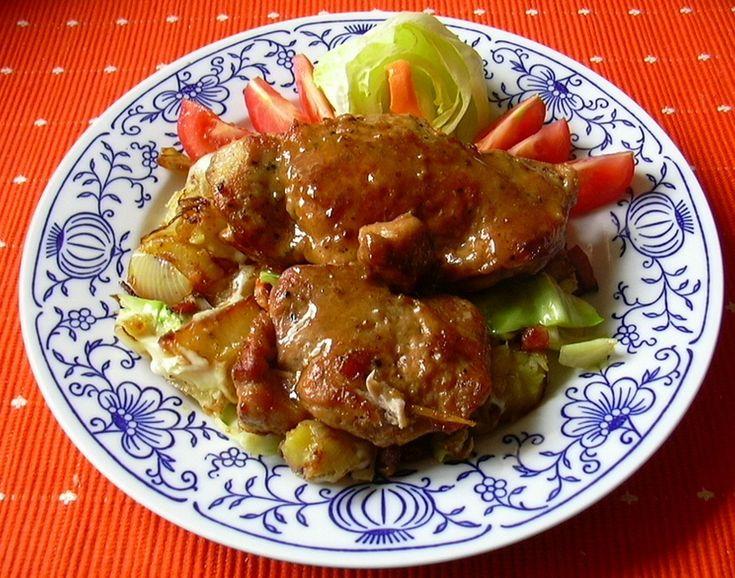 Kotleta s překvapením :: Domací kuchařka - vyzkoušené recepty