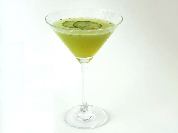 Zero Proof: Cucumber Basil 'Gimlet' | Recipe
