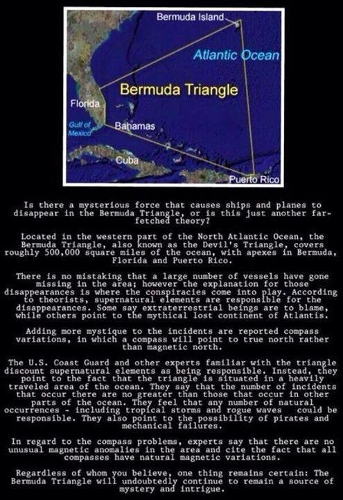 the origin and mysteries surrounding the bermuda The bermuda triangle is one of the modern world's favorite mysteries in this lesson, we'll examine the history behind this legend and see how.