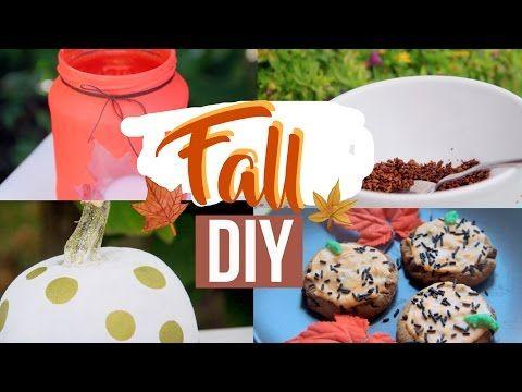 FALL DIY - YouTube