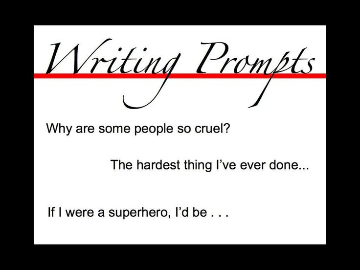 25+ best ideas about High school writing prompts on Pinterest ...