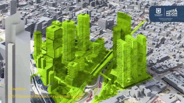 Plan parcial de Renovación Urbana Estación Central  Bogotá
