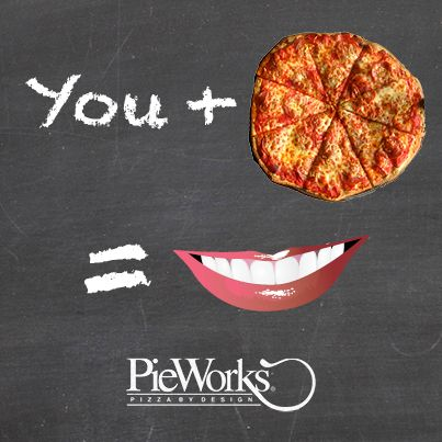 "Client: #PieWorks Pizza by Design | Project: ""You + PieWorks"" #Facebook Promo #Graphic, 2013 