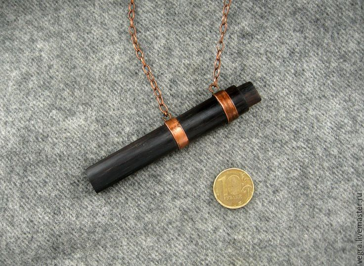 """Купить """"Якаранда"""" шейный нож подвеска - нож, сувенир, подарок, подвеска, украшение, чёрный доктор"""