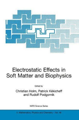 Electrostatic Effects in Soft Matter and Biophysics: Proceedings of the NATO Advanced Research Works