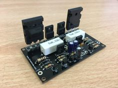 100W HiFi Audio Amplifier