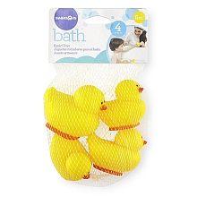 Babies R Us  Paquet de 4 canards arroseurs jaunes en caoutchouc