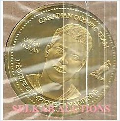 2002 Salt Lake Olympics Team Canada Hockey Coca-Cola Coin OWEN NOLAN New on eBid Canada