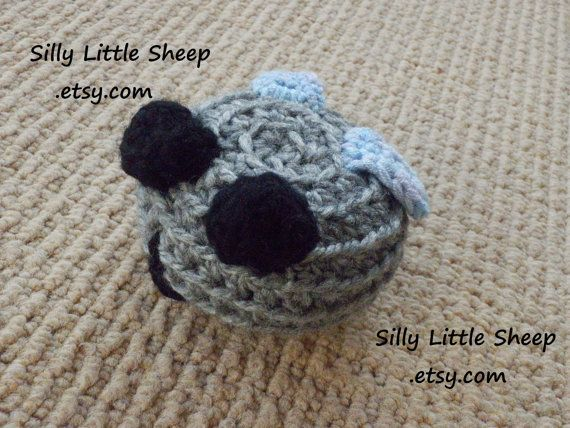 Silly Fly  stuffed soft crocheted toy for by sillylittlesheep, $10.00