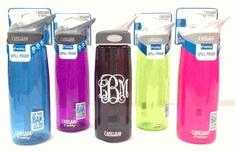 Camelbak Water Bottle with Monogram!