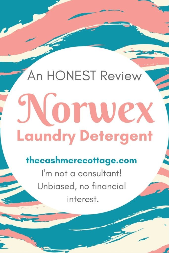 I tried Norwex Laundry Detergent. After looking for reviews, I'm not convinced any review I've seen was from someone who isn't a consultant or part of the company. As someone with no financial interest in this product, I'm putting my honest review out in the open in case you find yourself in a similar position.