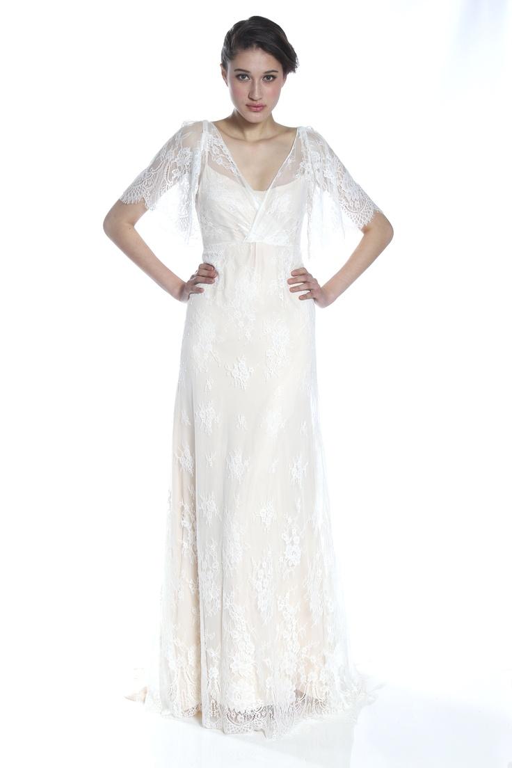 Boho wedding dress the dress pinterest wedding for Romantic bohemian wedding dresses