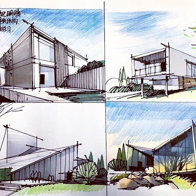 10 Spectacular Home Design Architectural Drawing Ideas In 2020 Architecture Drawing Layout Architecture Architecture