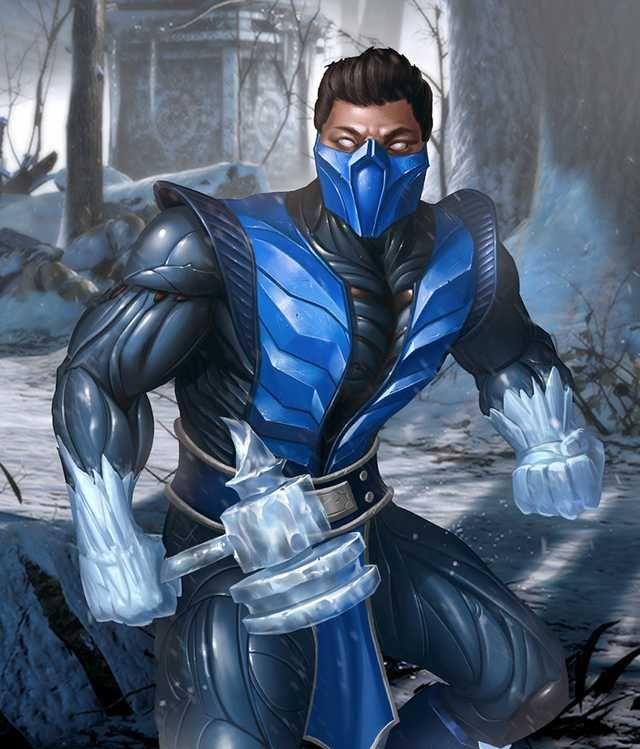 Injustice 2 Mobile Roster Sub Zero Mortal Kombat Injustice Mortal Kombat