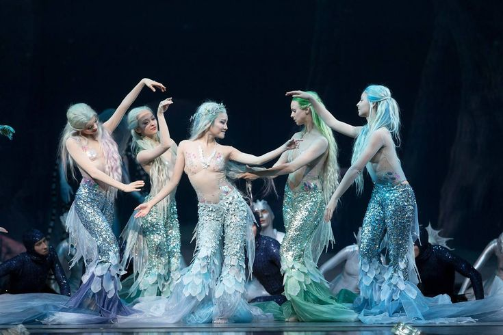 The Little Mermaid Ballet - Finland. This is picture is beautiful when you it full size!