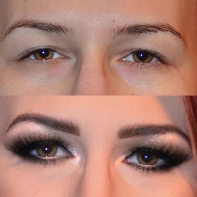 Meninas, vejam só um truque muito legal para alongar os olhos. Se você tem olhos pequenos e quer alongar veja só como é super fácil fazer com make. Os materiais utilizados podem ser encontrados em qualquer loja