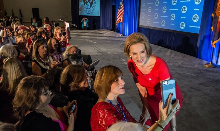 Carly Fiorina discusses what it'll be like being the only woman on stage tonight at the Republican Debate.