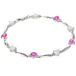 B1553-silver-gemstone-heart-diamond-bracelet-silver-jewelry.1.jpg (312×312)