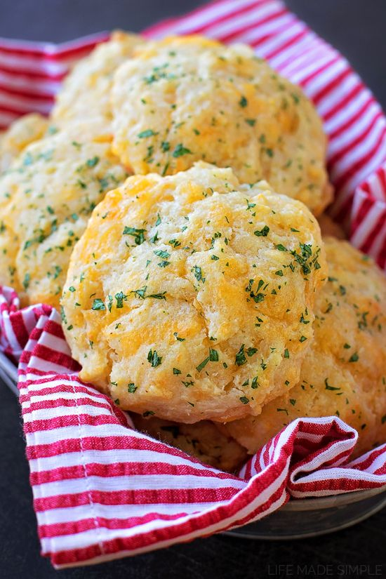 Everyone will love these garlic cheddar bay biscuits! They're soft, fluffy and packed full of amazing flavor!