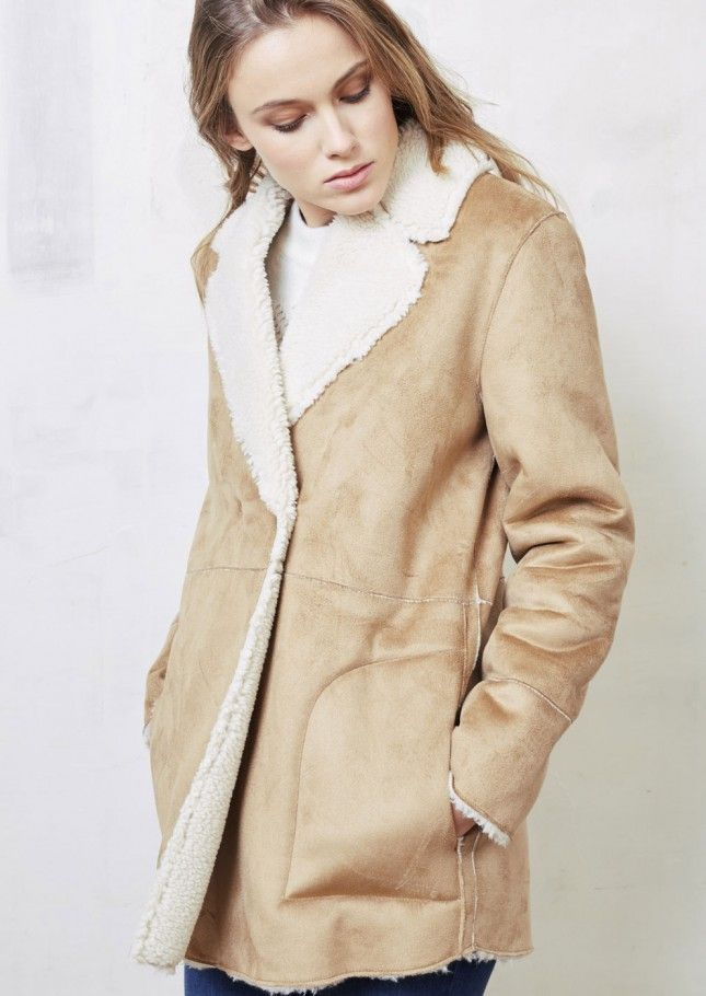 Manteau molicot camel - manteau femme - sud express 1
