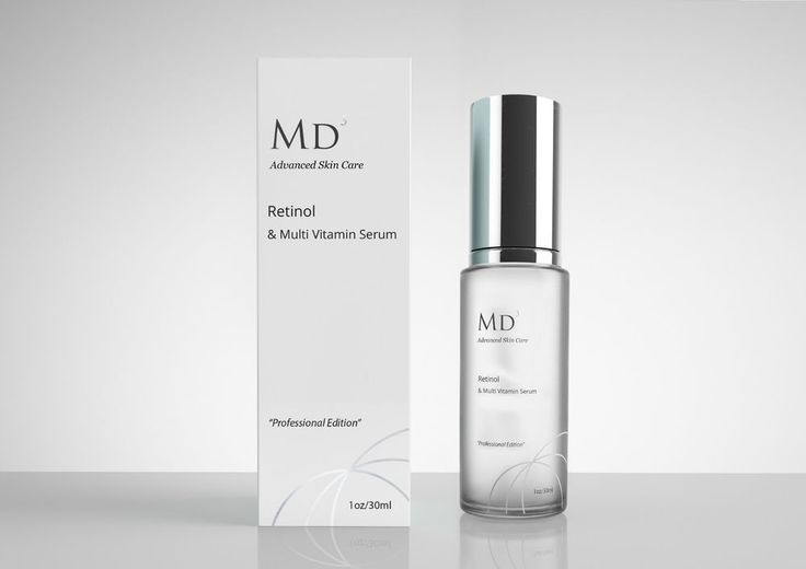 MD3 Advanced Retinol & Multi Vitamin Serum POTENT Anti Ageing 30ml sealed RRP£79