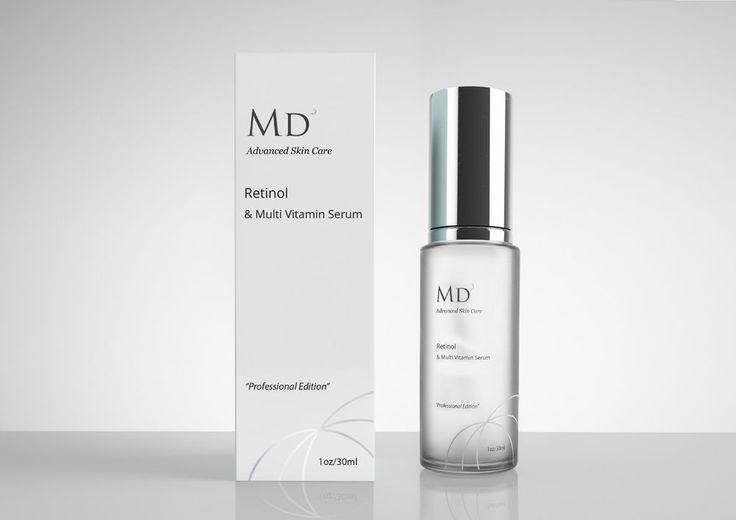 MD3 Advanced Retinol & Multi Vitamin Serum POTENT Anti Ageing 30ml sealed RRP£79