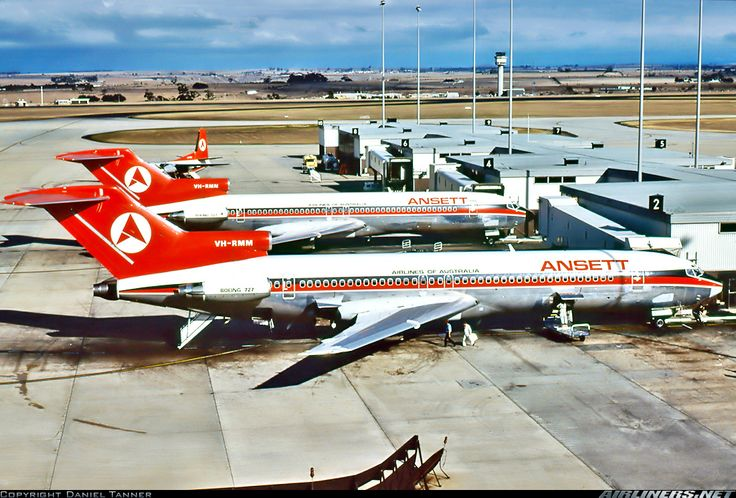 Ansett Boeing 727-277/Adv aircraft picture