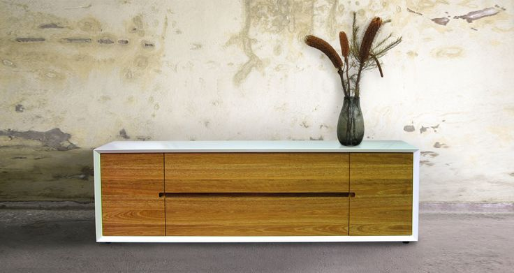 Our Luka Side Cabinet - Form and Function? Why yes sir we have both.