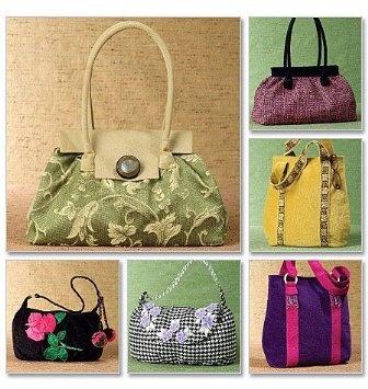 Amazon.com: McCall's Sewing Pattern M4936 Handbags 6 Styles: Arts, Crafts & Sewing: M4936 Handbags, Mccall S Sewing, Styles, Purse Patterns, Sewing Solutions, Pattern M4936, Sewing Patterns, Arts & Crafts