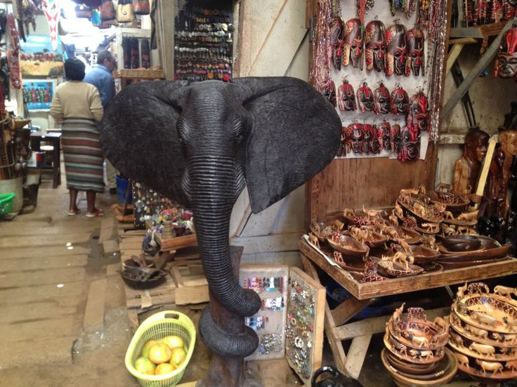Elephant @ Maasai Market, Westlands Nairobi