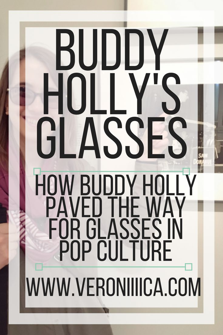 Buddy Holly helped pave the way for glasses in pop culture.  Read here how his famous glasses have changed the way people view low vision