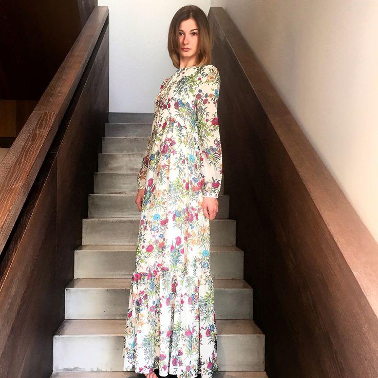 Long dress flower www.trymeshop.com