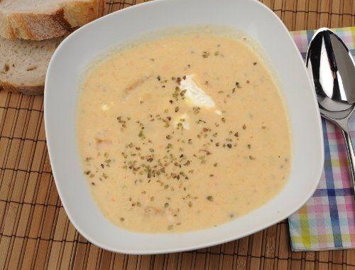 Soppa med rotfrukter och Savoykål
