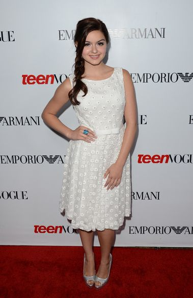 CHILD STAR STYLE: 5 Best Dressed #ChildActor Ariel Winter at Teen Vogue's 10th Anniversary Party|Hollywood Mom Blog