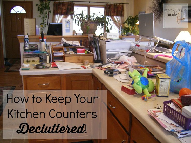 How To Keep Your Kitchen Counters Decluttered For Good