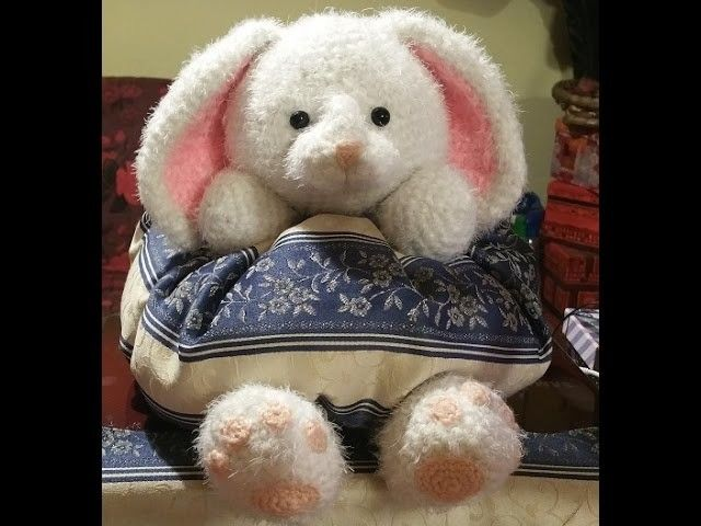 Tutorial coniglio amigurumi all'uncinetto - conejo crochet - crochet rabbit