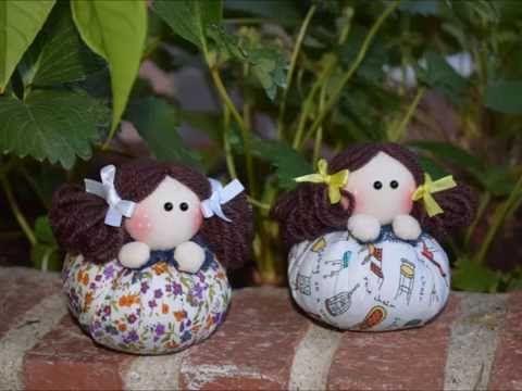 Los mundos de Esthercita: Tutorial muñecas de tela perfumadas