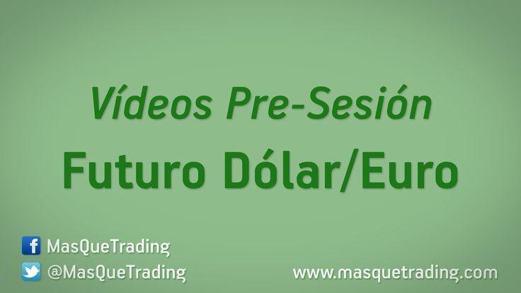 Vídeo análisis pre-sesión del Futuro Dólar-Euro (6E) día 22-12-2015     http://www.masquetrading.com/mercado/Dolar_Euro.html Comentarios y consultas a info@masquetrading.com