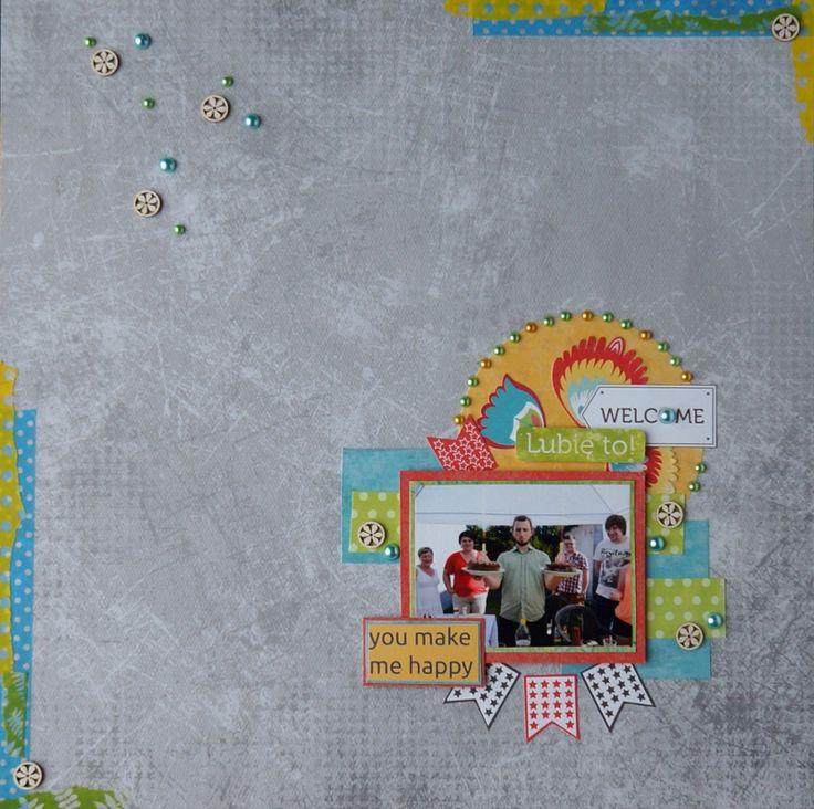 goscrap.plWyniki wyzwania mapkowego #8 // Results of the Sketch Challenge #8 » goscrap.pl by Katrina #goscrap #scrapbooking