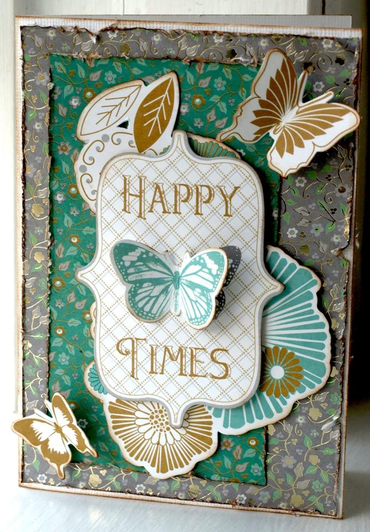 Happy Times **New Kaisercraft** - Scrapbook.com