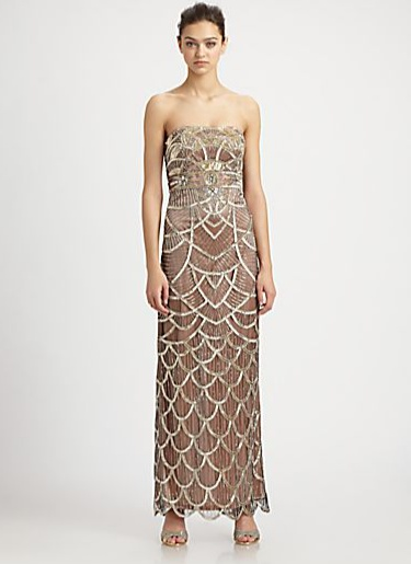 Art deco dress