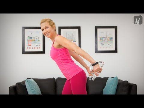 Fitness Workout für definierte Arme und Schultern - YouTube