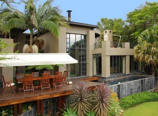 North facing with majestic views, this exquisite #Woodhill property is designed to create a luxurious ambiance of modern elegance with a touch of eastern influences. #Pretoria #pleasurable