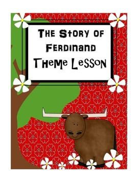 Are your students having trouble identifying the theme of a story?  This lesson digs deep into theme!  This lesson plan includes an activity that uses the book The Story of Ferdinand to help students identify theme.  The activity involves identifying the main character's traits, and evidence to support how they dealt with the problem in the story.